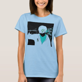 In with a bullet, out with hearts T-Shirt