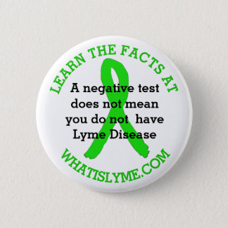 Inaccurate Lyme Disease Testing Facts button