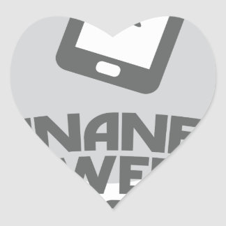 Inane Answering Message Day - Appreciation Day Heart Sticker