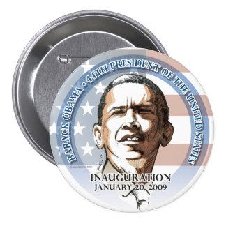 Inaugural Button, Barack Obama, Jan. 20, 2009