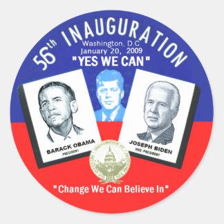 Inaugural JFK Sticker