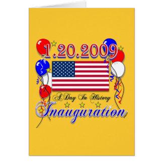 Inauguration 2009 Gifts and Inauguration Apparel Card