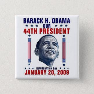 Inauguration 2 Inch Square Button