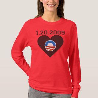 Inauguration Countdown Tee, Red. T-Shirt