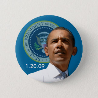 Inauguration Day 1.20.09 - Collector's Item! 2 Inch Round Button