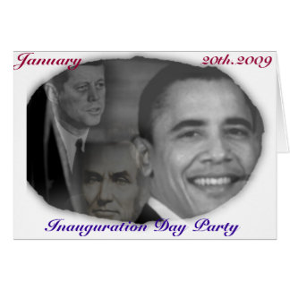 Inauguration Day Party Invite_ Card