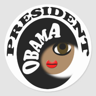 Inauguration Day T-Shirts, Buttons & Gifts! Classic Round Sticker