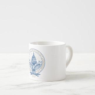 Inauguration Donald Trump Mike Pence 2017 Logo USA Espresso Cup