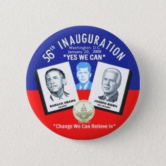 Inauguration Obama Biden JFK Button
