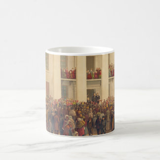 Inauguration of Jefferson Davis American Civil War Coffee Mug