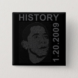 inauguration speech with embeded image 2 inch square button