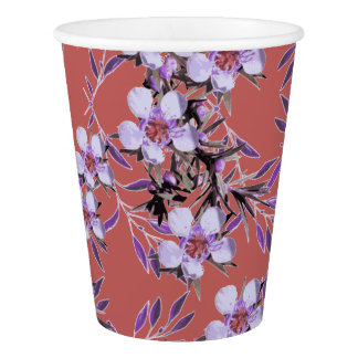'Inaya' - Abstract Nature Pattern Paper Cup