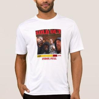 "Inbox Full ""Sold Out"" Tour ""Crowd""shirt *new* T-Shirt"