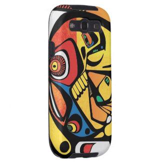 Inca Bird Art Galaxy S3 Covers