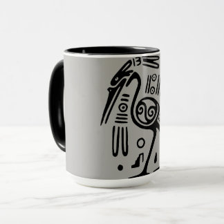 Inca Bird Coffee Mug Indigenous Art