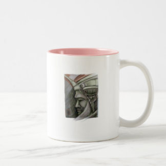 Inca gótico Two-Tone coffee mug