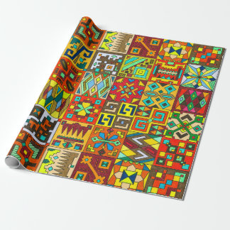INCA Inspired Wrapping Paper
