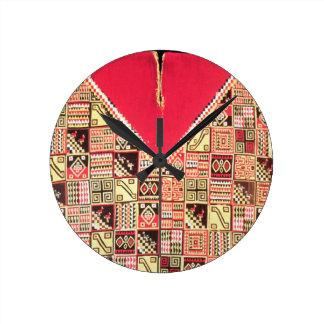 Inca 'Poncho', Bolivia, c.1500 (wool) Wall Clock