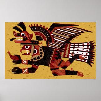 'Inca Warrior' Poster