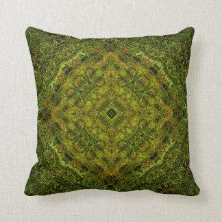 Incan Lincoln Mandala Cushion/Pillow Throw Pillow