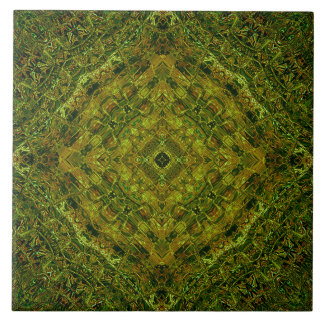 """Incan Lincoln"" Mandala Tile"