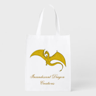 Incandescent Dragon Creations Gold dragon bag 2