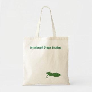 Incandescent Dragon Creations Tote bag - Green