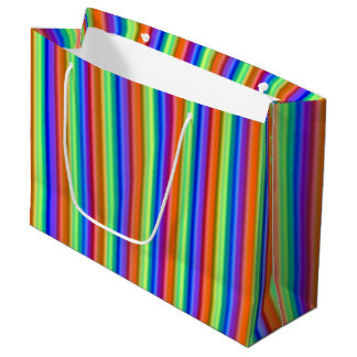 Incandescent Rainbow Large Gift Bag