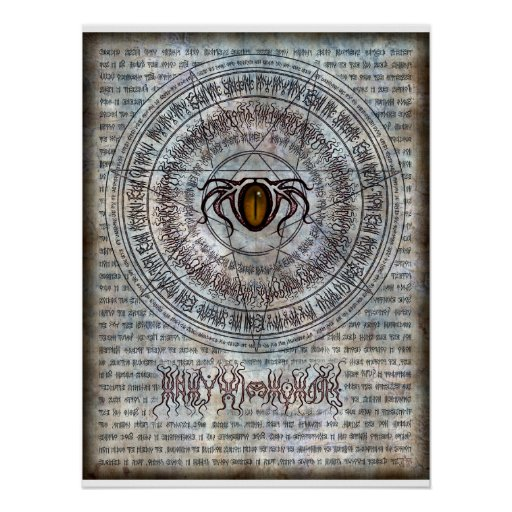 Incantation of the Old Ones 18x24 Poster