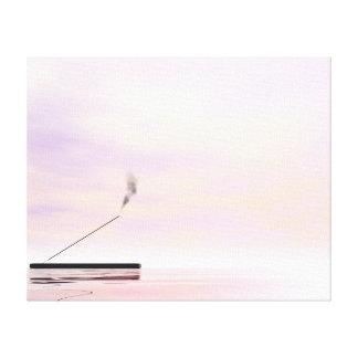 Incense - 3D render Canvas Print