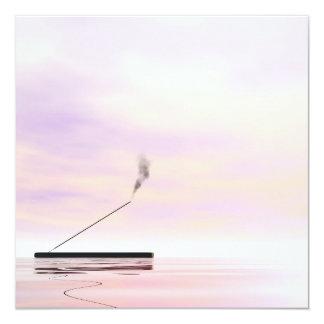 Incense - 3D render Card