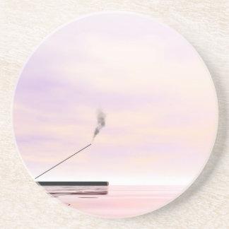 Incense - 3D render Coaster