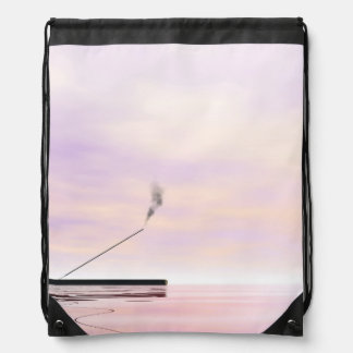 Incense - 3D render Drawstring Bag