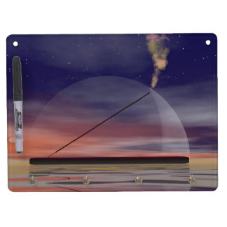 Incense - 3D render Dry Erase Board With Keychain Holder
