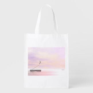 Incense - 3D render Grocery Bag