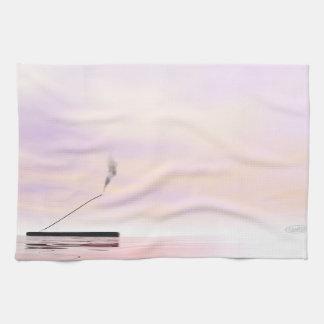 Incense - 3D render Kitchen Towel