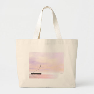 Incense - 3D render Large Tote Bag