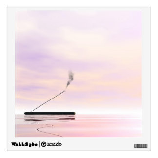 Incense - 3D render Wall Sticker
