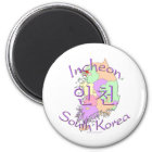 Incheon South Korea Magnet