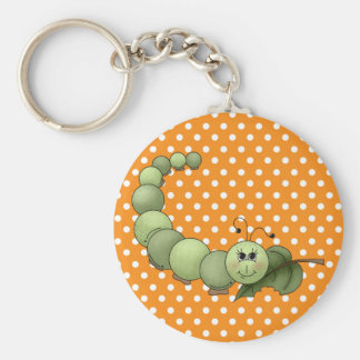 Inchworm Keychain
