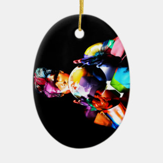 Inclusion and Equality in a Business Organization Ceramic Ornament