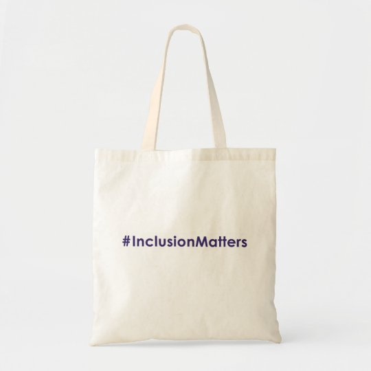 #InclusionMatters tote bag