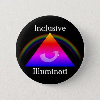 Inclusive Illuminati 2 Inch Round Button