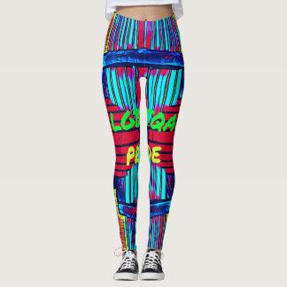 Inclusive 'LGBTQA PRIDE 'Rainbow Spectrum Leggings