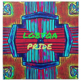 Inclusive 'LGBTQA PRIDE 'Rainbow Spectrum Napkin