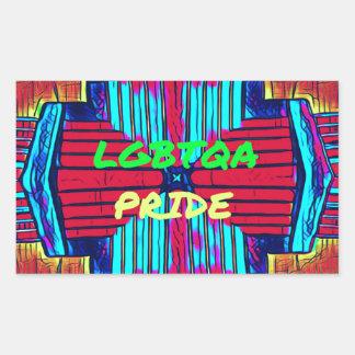 Inclusive 'LGBTQA PRIDE 'Rainbow Spectrum Sticker