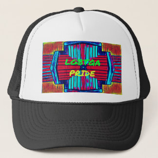 Inclusive 'LGBTQA PRIDE 'Rainbow Spectrum Trucker Hat