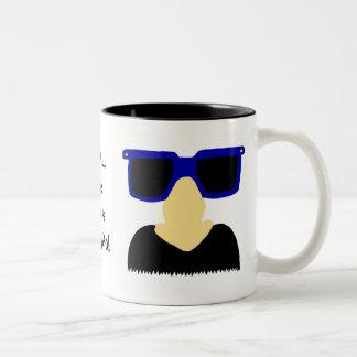 Incognito Mustache & Glasses Mug