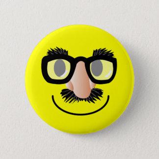 'incognito' SMILEY FACE PIN
