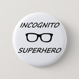 Incognito Superhero 01B 2 Inch Round Button